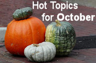 Hot Topics for October