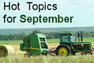 Hot Topics for September